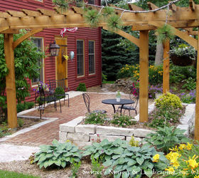 No Porch No Problem Create The Porch Feeling With A Patio In The Front Yard,