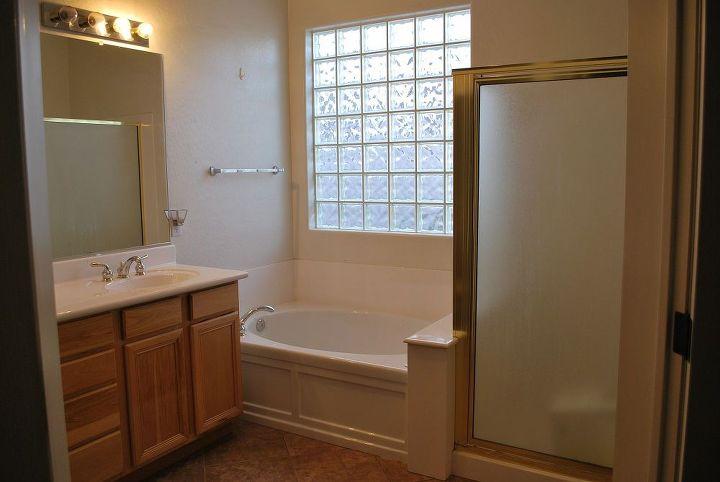 master bath remodel may 2010, bathroom ideas, home decor, Before