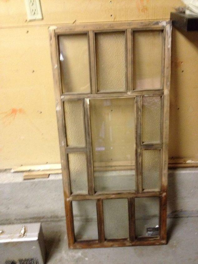 repurposed old window to headboard bedroom ideas painted furniture repurposing upcycling windows - Old Window Ideas