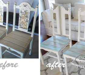 updated dining chairs in white and pastel colors dining room ideas painted furniture & Updated Dining Chairs in White and Pastel Colors | Hometalk