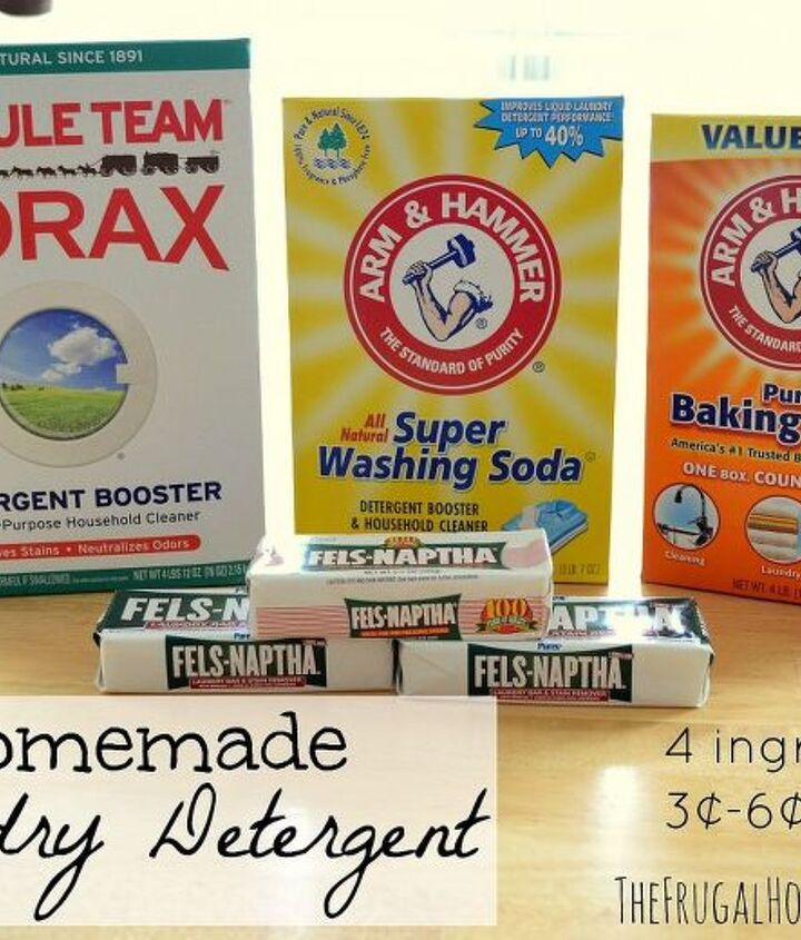 homemade laundry detergent, cleaning tips