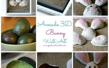 Recycle Your Avocado Shells into Art