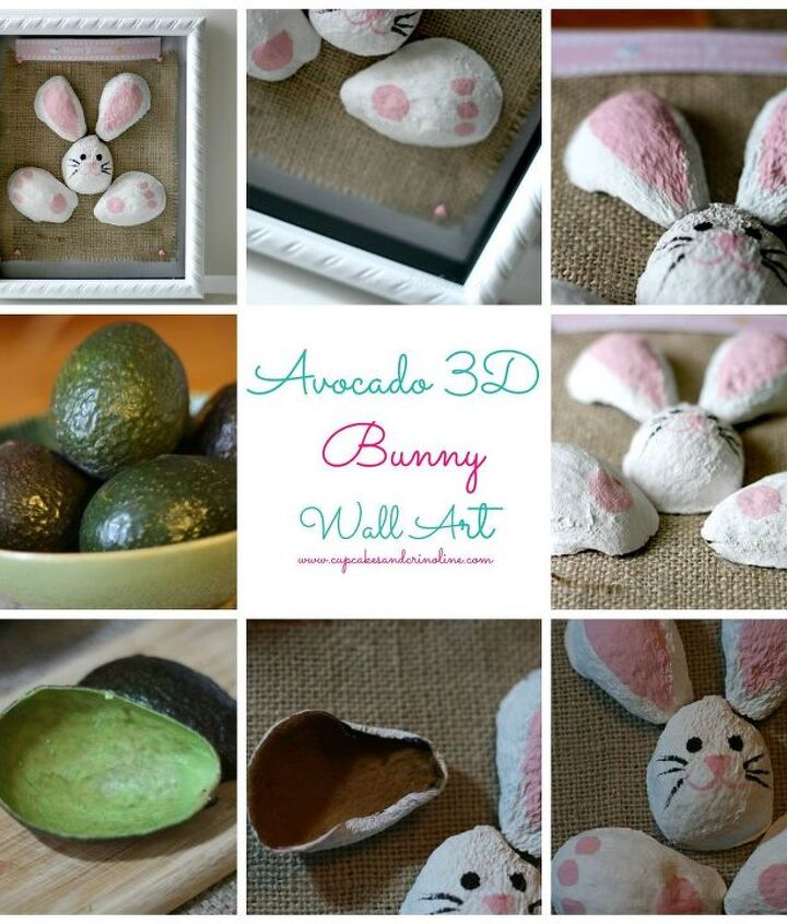 3D Avocado Art