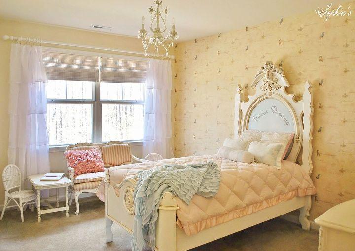 little girl s french inspired room, bedroom ideas, home decor