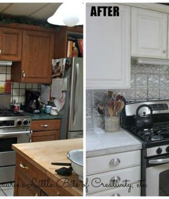My kitchen makeover.  It was time to get rid of the 1980's kitchen.