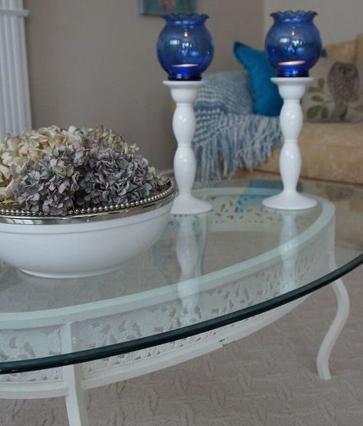 coffee table makeover, chalk paint, painted furniture