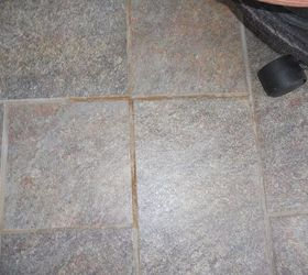 How do I get rust off of tile and grout outside Hometalk
