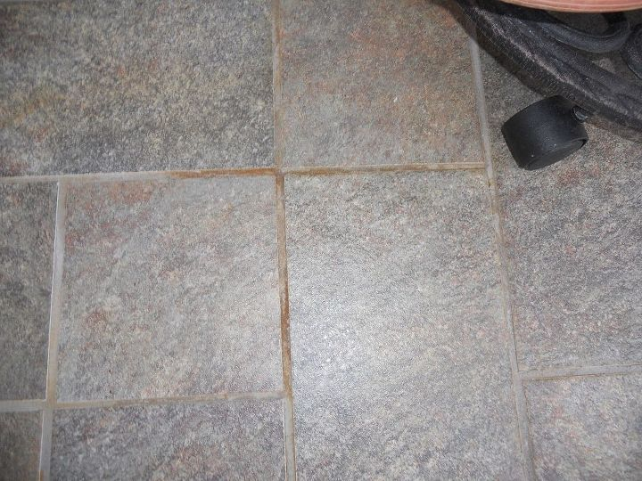 How Do I Get Rust Off Of Tile And Grout Outside Hometalk - Cleaning grout off new tiles