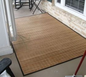 Lovely Front Porch Rug, Flooring, Painting, I Found An Average Bamboo Rug