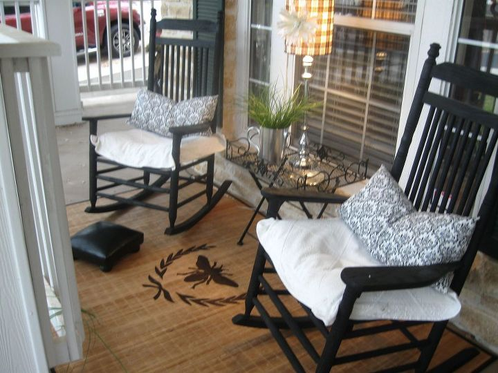 Front Porch Rug Flooring Painting