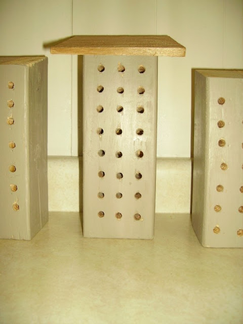 mason bee houses for your yard or deck, diy, outdoor living, The bare Mason Bee home prior to our painting
