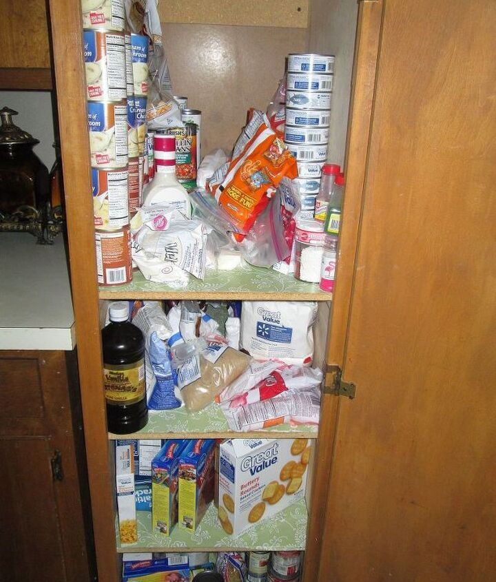 My mess of a pantry