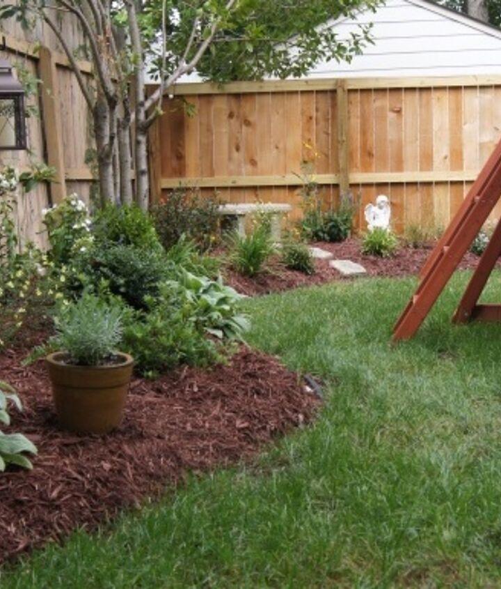 Ooh, nice border garden! (Before below)