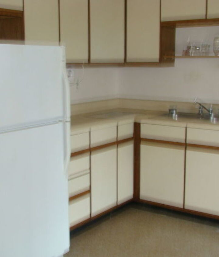 The kitchen that came with the house.