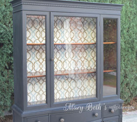 Genial Repainted Vintage Hutch, How To, Painted Furniture