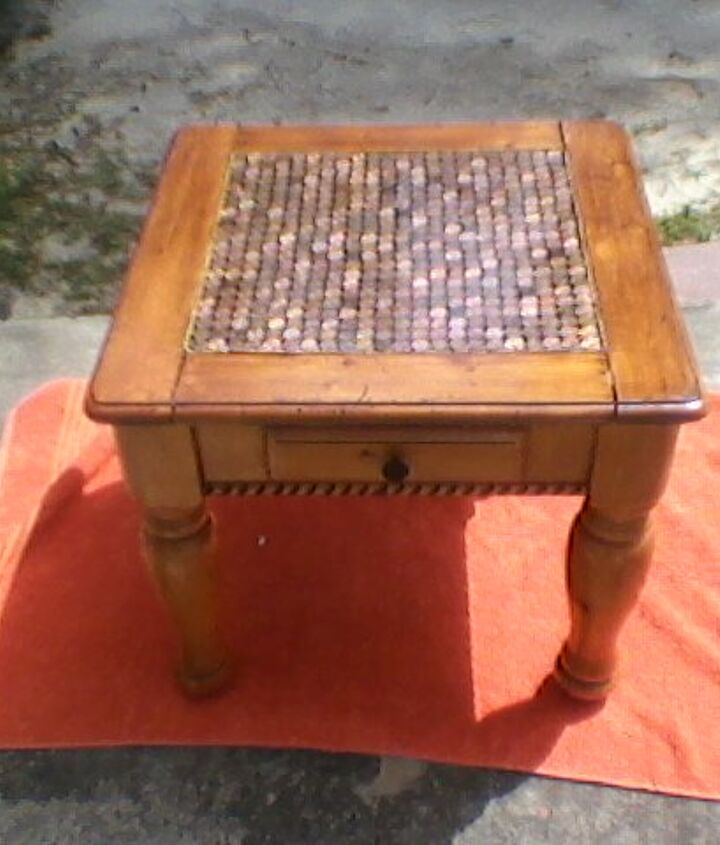 penny table, diy, painted furniture