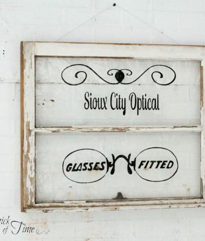 antique window signage, crafts