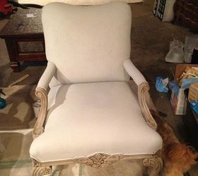 Painting Fabric Upholstery With Annie Sloan Chalk Paint, Chalk Paint,  Painted Furniture, Repurposing