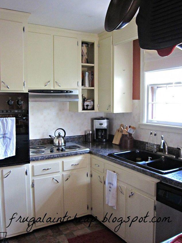 easy and inexpensive kitchen backsplash, home decor, kitchen backsplash,  kitchen design, final