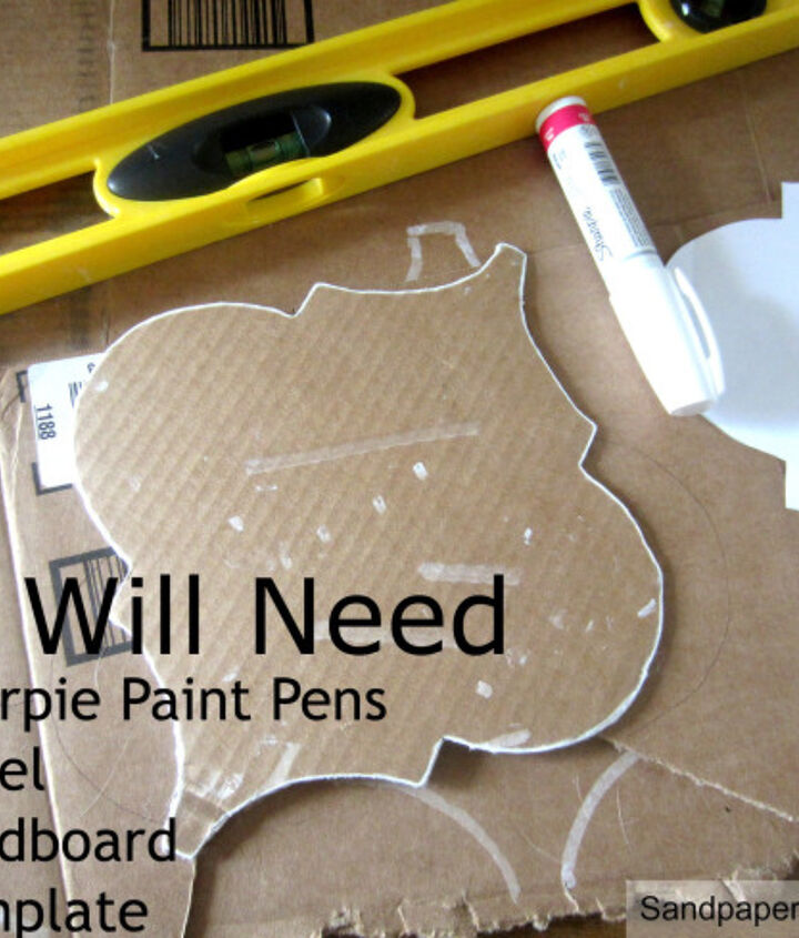 print the template out online, trace it onto cardboard, and then use a level each time you trace it on the wall