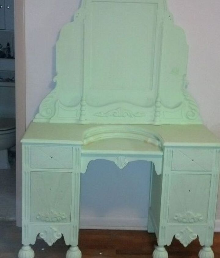 q i have an art deco bedroom vanity i want to repurpose, painted furniture, repurposing upcycling