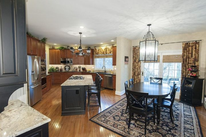 kitchen update with brookhaven island amp desk, home decor, home improvement, kitchen backsplash, kitchen design, kitchen island