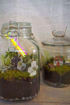 ireland in a jar, crafts, terrarium, Irish terrariums