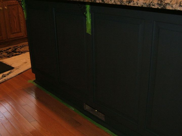 After two coats- a little touching up needed and then I'll top coat this piece with Annie Sloan's Lacquer.
