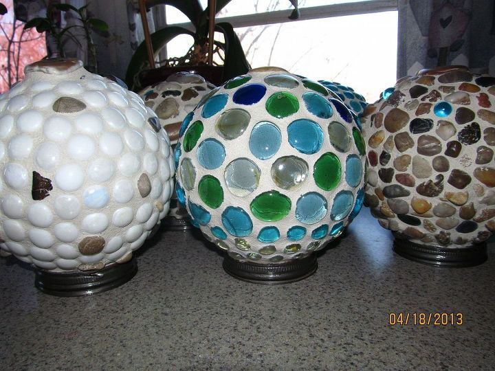 garden globes, crafts, mason jars, Now they sit upright and are water tight and weather protected I think they are so cute