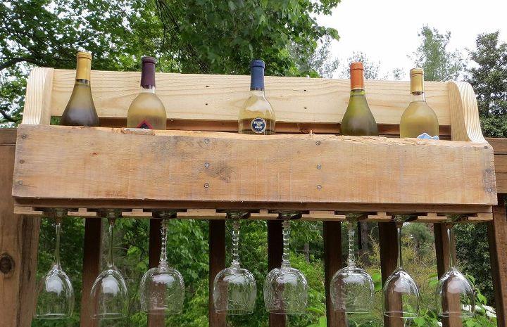 Diy Pallet Wine Rack Hometalk