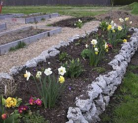 Recycling Concrete Driveways Into A Beautiful Rock Garden Wall, Concrete  Masonry, Flowers, Gardening