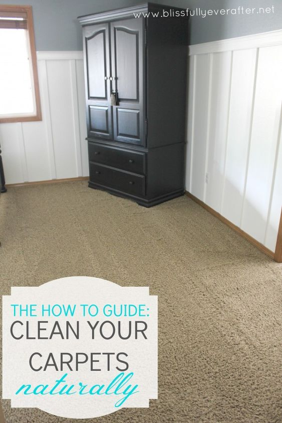 How To Clean Carpets Naturally Hometalk