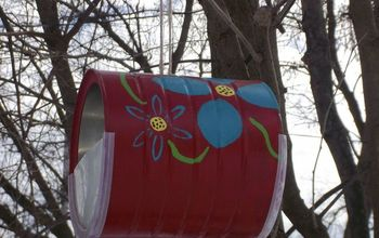 Make Easy Bird Feeders from Recycled Coffee Cans