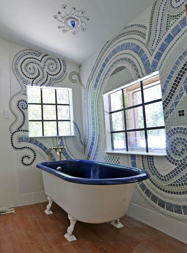 bathroom mosaic bathroom ideas tiling now i want to make mosaics everywhere - Bathroom Ideas Mosaic