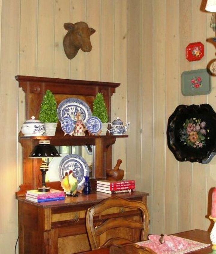 An antique hutch found in NC on a long ago weekend getaway!