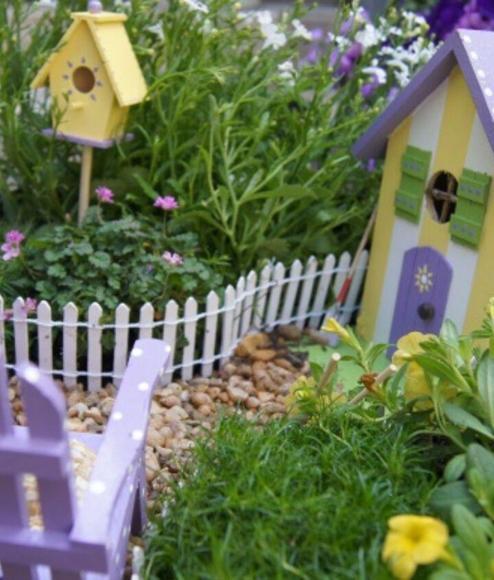 my fairy garden, gardening