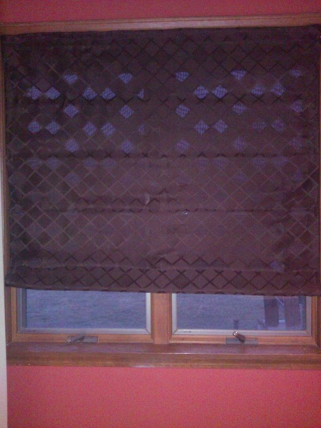 Do It Yourself Window Treatments: Do It Yourself Roman Shade
