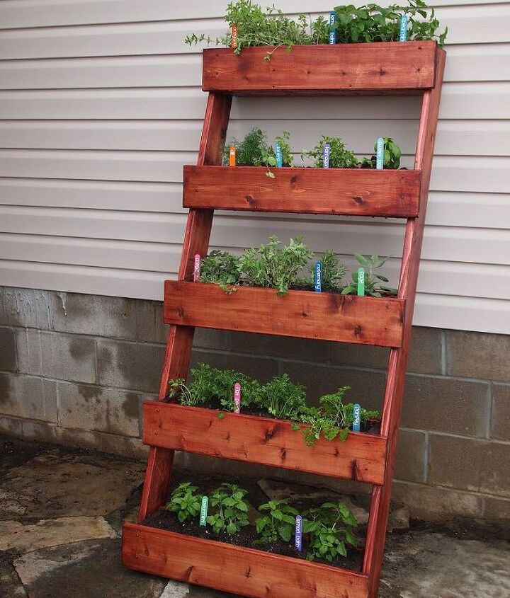 We love our new herb garden!