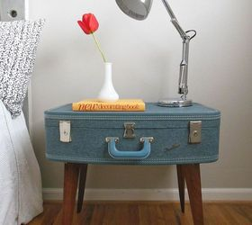 Superior DIY Suitcase Side Table