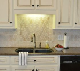 Ordinaire Traditional Kitchen Tour With Painted Cabinets, Home Decor, Kitchen  Backsplash, Kitchen Cabinets,