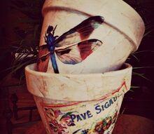 make your own custom flower pots, crafts
