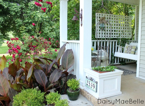 time to get the front porch ready for summer, curb appeal, outdoor living, porches