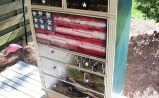 memorial day honor the fallen in memory of sgt jimmy regan, painted furniture, patriotic decor ideas, seasonal holiday decor, Honor the fallen