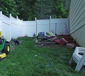Sloped Backyard, Diy, How To, Landscape, This Is The Entrance Into My