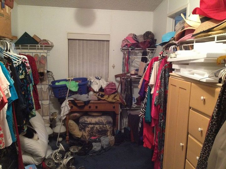 closet makeover using what i already had, cleaning tips, closet