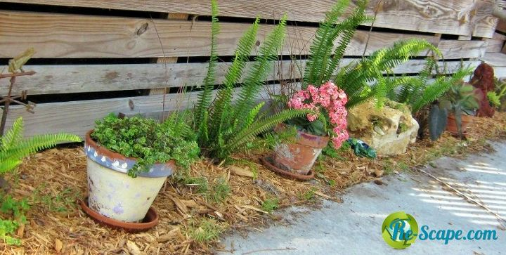 fun with clay pots, outdoor living, repurposing upcycling
