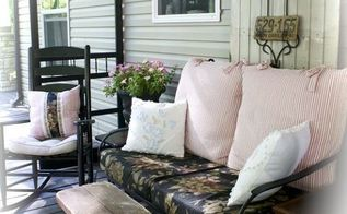 repurposed screen door project for the porch, outdoor living, porches