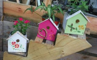 some more things i am making from re purposed woods, crafts, flowers, gardening