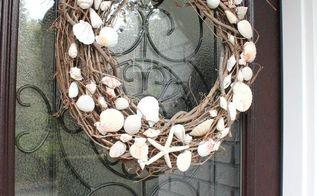 diy summer wreath, crafts, seasonal holiday decor, wreaths