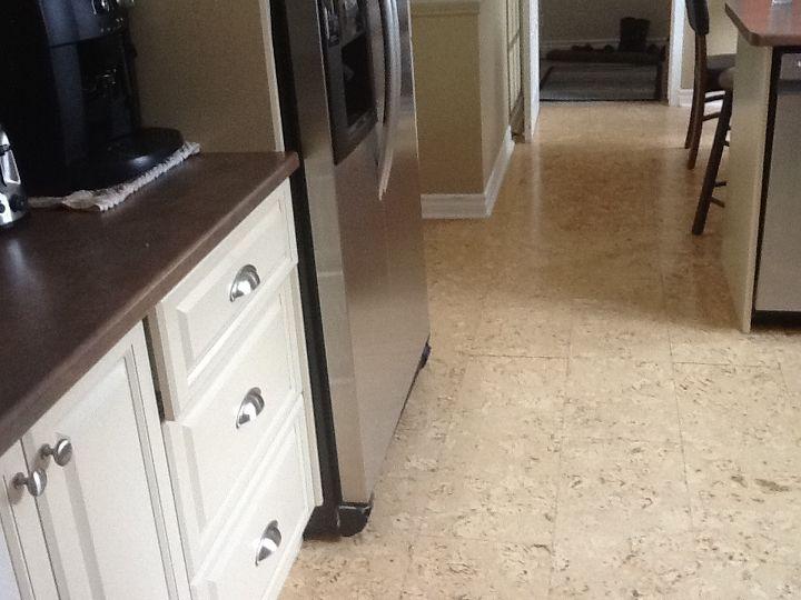 Painting cork floors | Hometalk